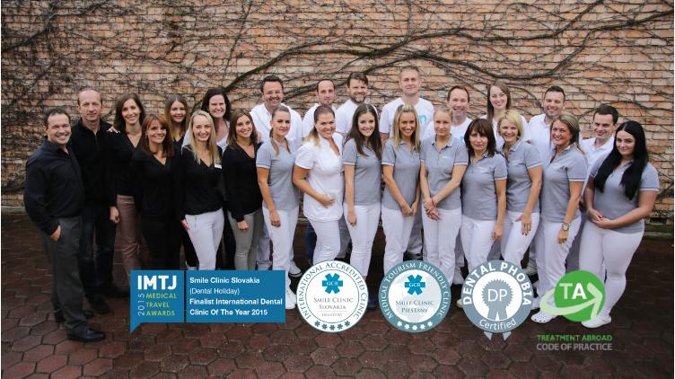 Smile Clinic Slovakia Team